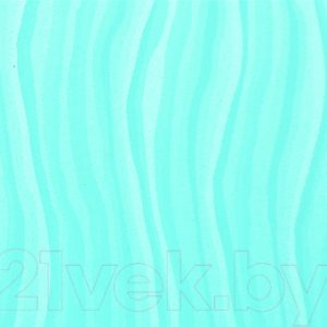 Экран-дверка Comfort Alumin Волна голубая 73x200