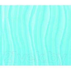 Экран-дверка Comfort Alumin Волна голубая 83x200