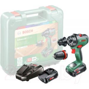Аккумуляторная дрель-шуруповерт Bosch AdvancedDrill 18