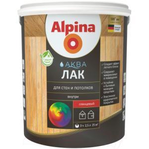 Лак Alpina Аква для стен и потолков