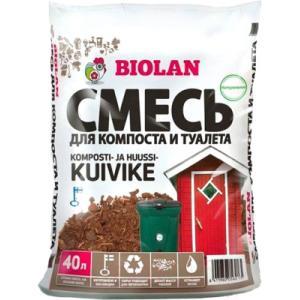 Биоактиватор Biolan Торф для компоста и сухого туалета