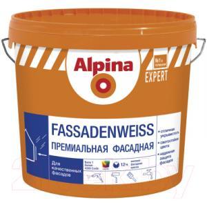 Краска Alpina Expert Fassadenweiss. База 1