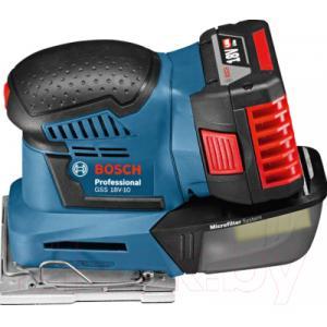 Профессиональная виброшлифмашина Bosch GSS 18V-10 Solo