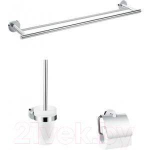 Набор аксессуаров для ванной и туалета Hansgrohe Logis UA 41727000