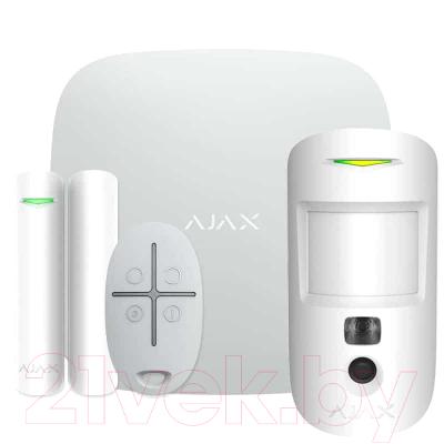 Комплект Умный Дом Ajax StarterKit Cam Plus / 20506.66.WH2