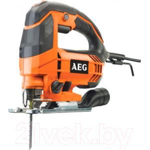 Профессиональный электролобзик AEG Powertools STEP 100