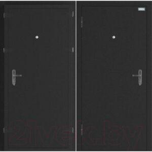 Входная дверь el'Porta Ультра Плюс Антик серебристый/Антик серебристый