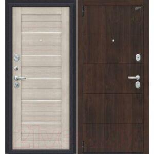 Входная дверь el'Porta Porta S 4.П22 Almon 28/Cappuccino Veralinga