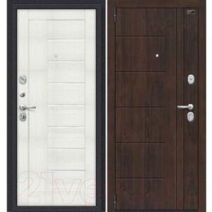 Входная дверь el'Porta Porta S 9.П29 Almon 28/Bianco Veralinga