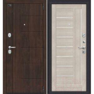Входная дверь el'Porta Porta S 9.П29 Almon 28/Cappuccino Veralinga